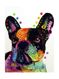 French Bulldog Giclee Print by Dean Russo
