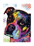 Young Boxer Giclee Print by Dean Russo