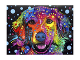 Golden Retriever Giclee Print by Dean Russo