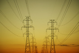 Electrical Towers Photographic Print