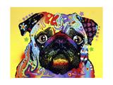 Dean Russo - Pug Digitálně vytištěná reprodukce