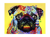 Pug Giclee Print by Dean Russo