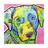 Labrador Giclee Print by Dean Russo