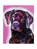 Black Lab Giclee Print by Dean Russo