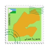 Mail To-From Djibouti Posters by  Perysty