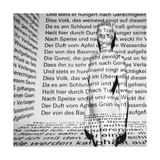 Seven Deadly Sins - La Divina Comedia by Dante Alighieri - Typography in the Room Photographic Print by Gosia Warrink