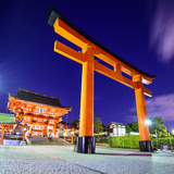 Fushimi Inari Taisha Shrine in Kyoto, Japan. Photographic Print by  SeanPavonePhoto