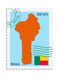 Mail To-From Benin Posters by  Perysty
