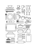Icon Kitchen No. 01 Giclee Print by Gosia Warrink