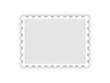 Blank Postal Stamp Illustration Prints by  oriontrail2