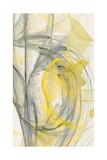Abstraction 10701 Giclée-tryk af Rica Belna