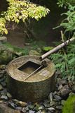 Japan Kyoto Ryoan-Ji Temple Stone Water Basin Poster by  Nosnibor137