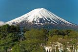 Mount Fuji from Kawaguchiko Lake in Japan Photographic Print by  Vacclav