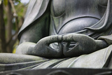 Japan Tokyo Senso-Ji Buddha Hands Close-Up Photographic Print by  Nosnibor137