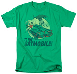 Batman Classic TV - To The Batmobile T-shirts