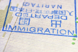 Immigration Stamp Photographic Print by Yury Zap