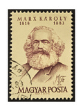 Marx Stamp Print by  marzolino