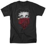 Betty Boop - Bandana & Roses T-Shirt