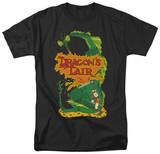 Dragon's Lair - DL Side Art T-shirts