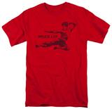Bruce Lee - Line Kick T-shirts