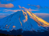 Sunset across the Mount Fuji Photographic Print by  shihina
