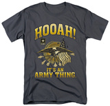 Army - Hooah T-shirts