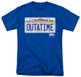 Back To The Future - Outatime Plate Shirt