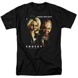 Bride Of Chucky - Chucky Gets Lucky T-shirts