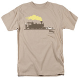 Back To The Future III - Pushing The Delorean T-Shirt