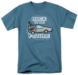 Back To The Future - 8 Bit Future T-Shirt