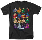 Batman The Brave and the Bold - Cast Of Characters T-shirts