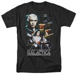 Battlestar Galactica - 35th Anniversary Collage T-shirts