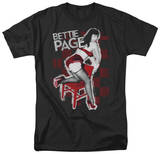 Bettie Page - Over A Chair T-Shirt
