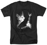 Batman Begins - BW Poster T-Shirt