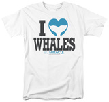 Big Miracle - I Heart Whales T-Shirt