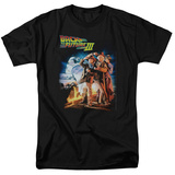 Back To The Future III - Poster Shirt