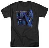 Farscape - Blue And Bald T-Shirt