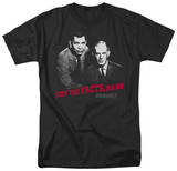 Dragnet - Just The Facts T-shirts