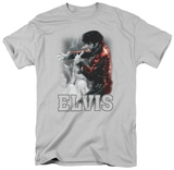 Elvis Presley - Black Leather T-Shirt