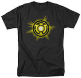 Green Lantern - Yellow Glow Shirts