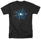 Green Lantern - Blue Glow T-shirts