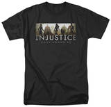 Injustice: Gods Among Us - Logo T-shirts