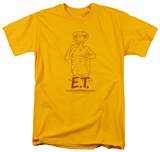 E.T. - Alien Swag T-shirts