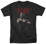 Dark Knight Rises - Permission To Die T-Shirt