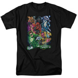 Green Lantern - Blackest Group Shirt