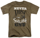 Garfield - Never Trust Shirt