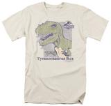 Jurassic Park - Retro Rex T-shirts