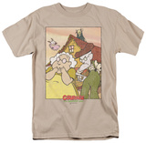Courage The Cowardly Dog - Gothic Courage T-shirts