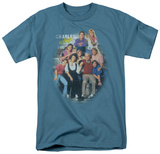 Charles In Charge - Cast Distressed Shirts