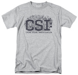 CSI - Distressed Logo T-shirts